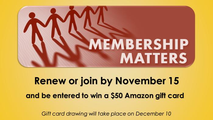 2017 Membership Drive Offer
