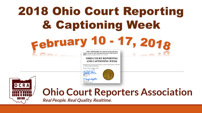 Ohio Cr And C Week 2018